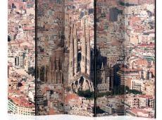 Paraván - Heart of Barcelona II [Room Dividers]